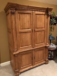brown wooden cabinet with drawer 184 mi