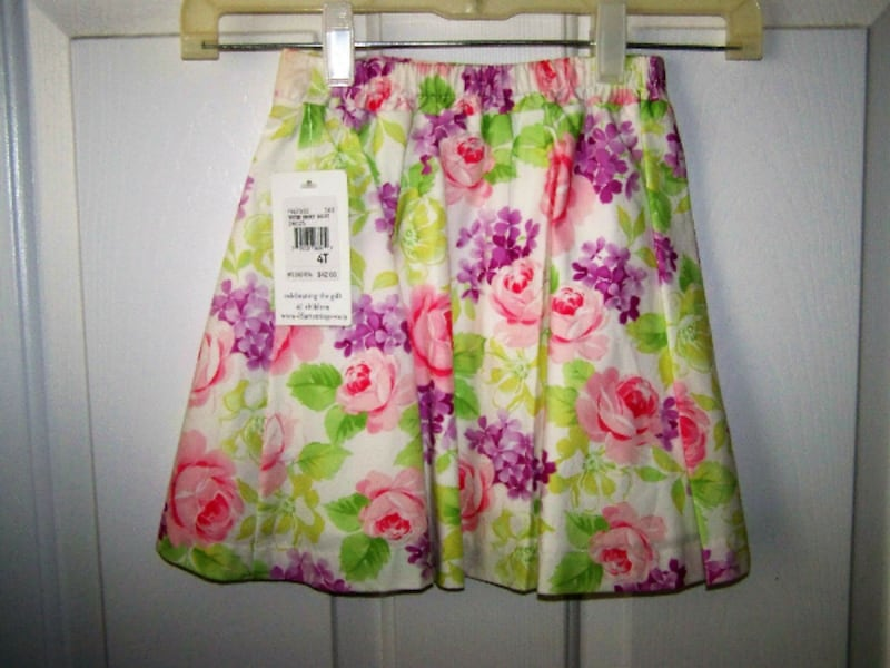 Spring Skirt~Girls Size 4T~Hartstrings~New with tags 38e76661-c33a-41fe-aa2d-3d6aa6670ba6