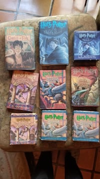 Harry Potter books and CD's in great condition  2368 mi