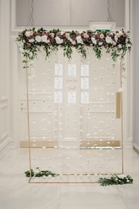 Wedding Seating Chart Stand Whitchurch-Stouffville, L4A 1T5