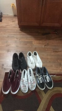 Vans Skate Shoes (5 pairs) Los Angeles, 90037