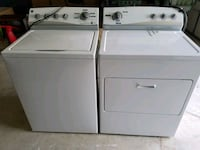 white washer and dryer set Haymarket, 20169