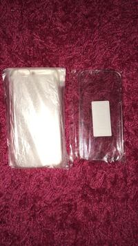 Lot de 2 coques iPhone 5 rigide et iPhone 6 souple transparente neuve