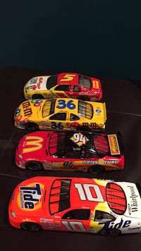 three red and black racing car toys Vaughan, L4H 1J9