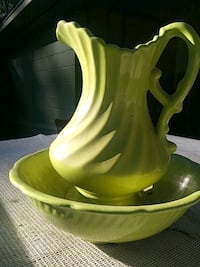 yellow and green ceramic bowl Gainesville, 32609