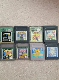 assorted Nintendo Game Boy game cartridges Calgary, T3N 0V3