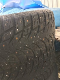 205 55R16 Winter tires with studs Leduc, T9E 0Z4