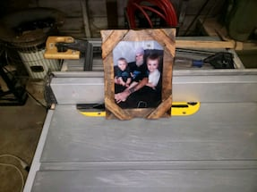 Hand made rustic 5x7