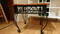 2 Solid Wooden Top End Tables Brantford, N3T 2S7
