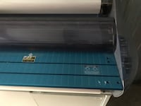 """GBC 27"""" commercial laminating machine used with cart Mount Laurel, 08054"""