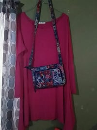 Pink dress and vera bradley purse  Enterprise, 36330