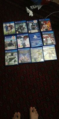 12 PS4 games  Greater London, E6 3BY