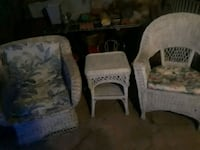 two white and gray fabric sofa chairs Mead, 73449