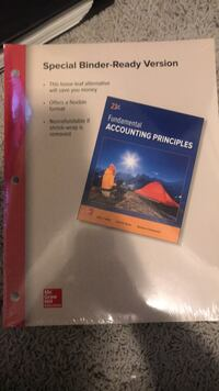 McGraw Hill Fundamental Accounting Principles 23rd Edition  Brookhaven, 30319