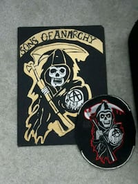 sons of anarchy drawing an patch