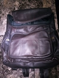 David King Leather Backpack Toronto