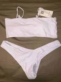 Brand New Never Worn White Zaful Bathing Suit Vaughan