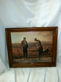 Prayer picture in wooden frame Hagerstown, 21740