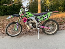 2007 Suzuki rmz450. Lots of upgrades