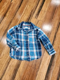 Carter's flannel shirt 2T. Great used condition