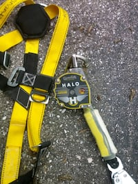 yellow and black safety harness Baltimore, 21282