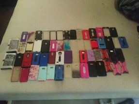Phone cases, and tempered glass.