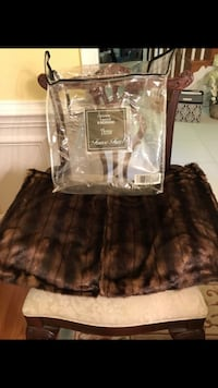 Dennis Basso Faux Fur Throw  Lorton, 22079