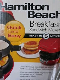 Hamilton beach breakfast sandwich maker Sterling, 20164