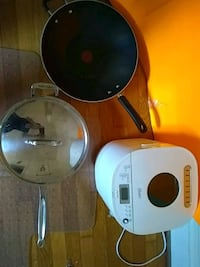Breadmaker, Wok, and Stainless Steel Pan with Lid Charlottesville, 22903