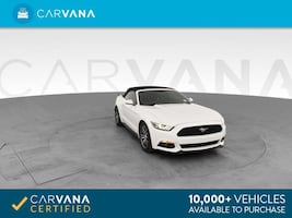 2017 Ford Mustang Convertible EcoBoost Premium Convertible 2D White
