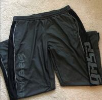 MENS XXL BLACK GREY ATHLETIC PANTS NEW!! Kansas City, 64109