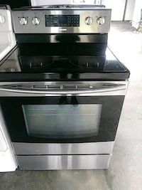 Stove glass top stainlees steel SAMSUNG Plant City, 33563