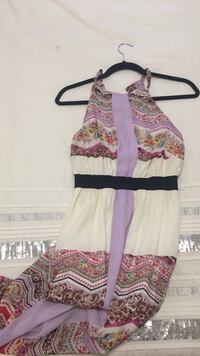 Size small young girls long dress