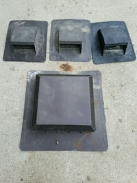 4 roof vents. New never used. Hamilton, L8W 1M4