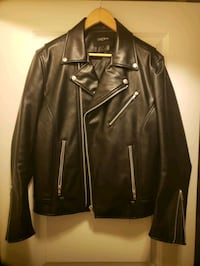 Faux Leather Biker Jacket  Burnaby, V5C 5Y1