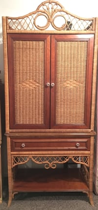 Antique Henry Link Armoire Entertainment Dresser Garment Holds Tv Door Perry Hall, 21128