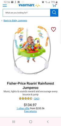 Brand new Fisher-Price Tiger Time Jumperoo Brampton, L6R 1L5