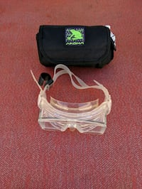 Dacor tempered glass diving mask and akona case