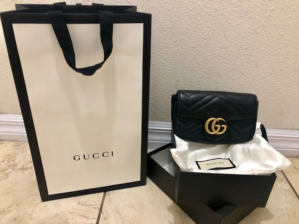 a903d2d47 Used Gucci GG Marmont Matelassé Leather Mini Chain Camera Bag for ...