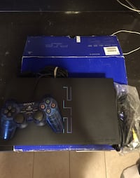 PS2 with Box