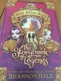 Ever After High The story book of lengends Mastic