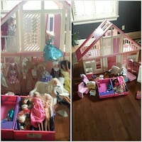 Barbie House, Barbies, Ken and accessories Stayner, L0M 1S0