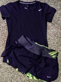 Small Nike athletic outfit.