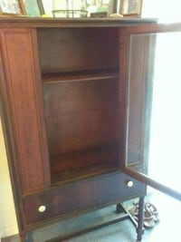 Antique Curio Cabinet. Manassas, 20110