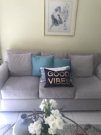 Beautiful soft fabric couch from Macy's  Miami, 33133