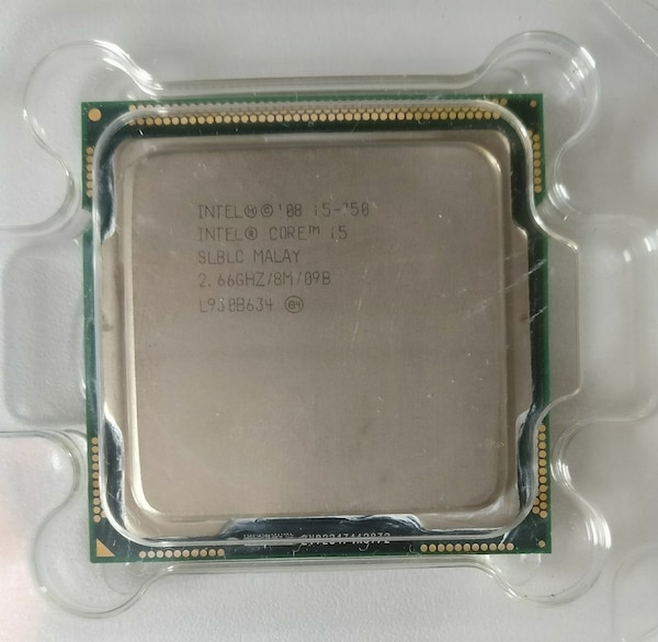 Procesador Intel Core i5 750 2,66 Ghz