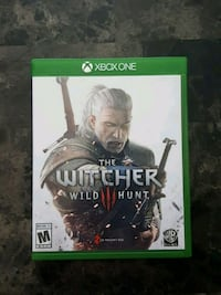 Xbox One The Witcher Wild Hunt game case Copperas Cove, 76522