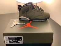 "Nike Air Jordan 6 Retro""Travis Scott"" Size27(Kids 12months yo 3 Years) Madrid, 28007"