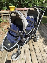 Kolcraft Contours compact Tandem Double baby stroller carrier $75 obo Mississauga, L5L 1G3