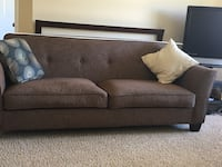 Brown couch - no pillows San Clemente, 92672